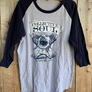 Tultex Shirts - Collective Soul See What You Started Raglan Tee XL
